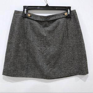 Banana Republic Double Front Mini Skirt